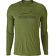 Patagonia M's Capilene Daily LS Graphic T-Shirt Rune Age: Sprouted Green X-Dye
